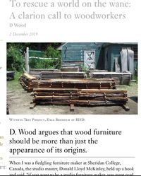 D Wood Writing Image