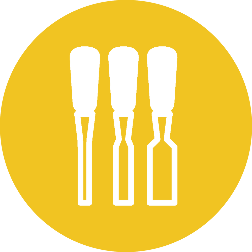4 Chisels TFS Icons Blue