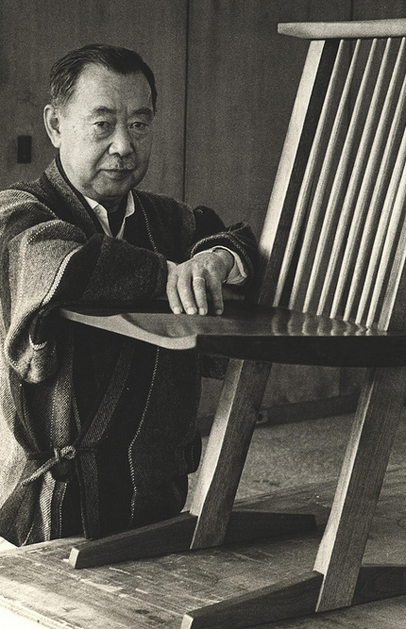 George Nakashima Portrait