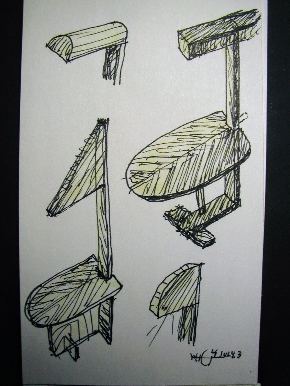 Bill Garbus Sketch2