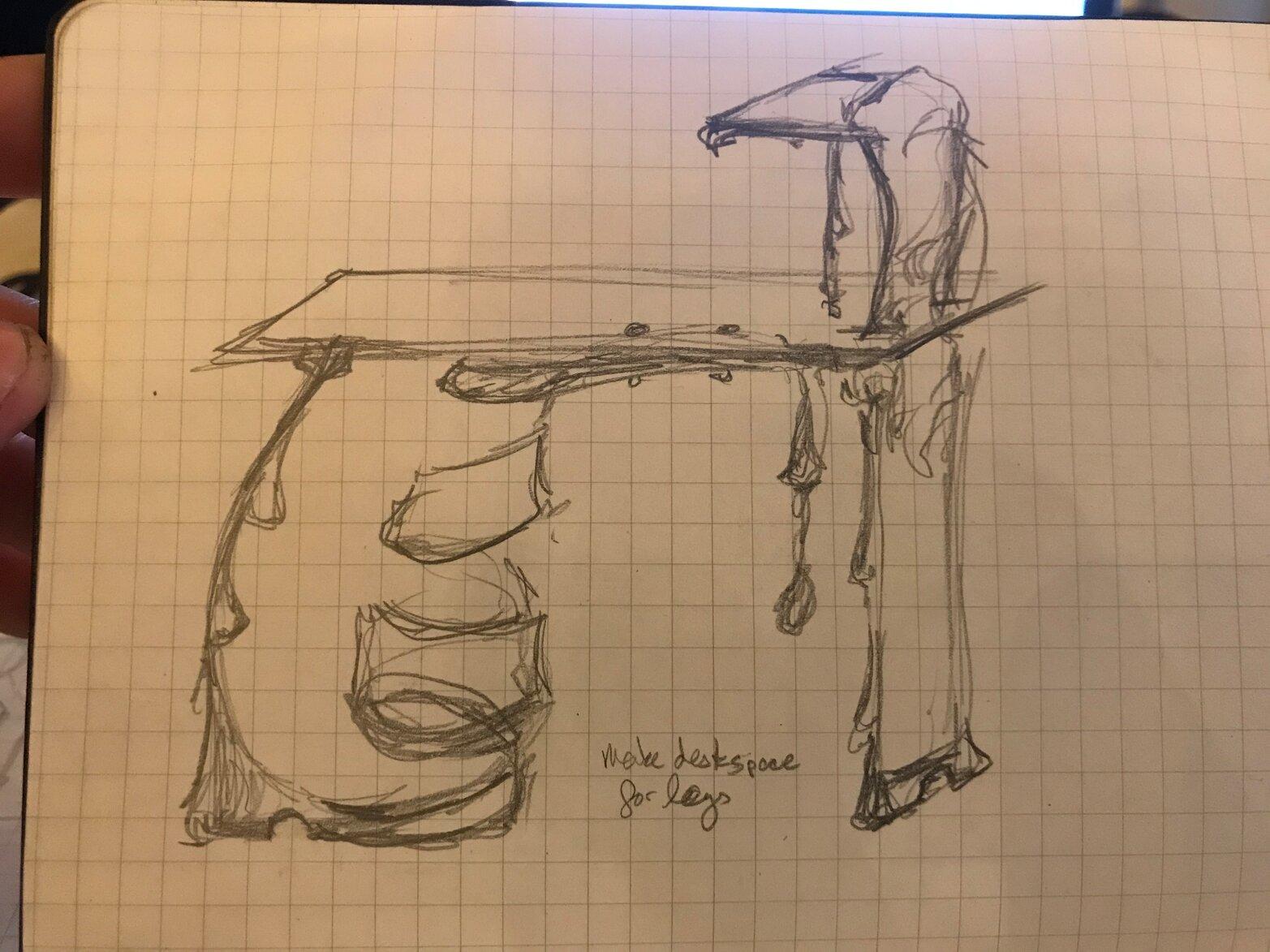 Rachel David Sketch 5