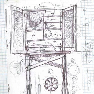 Chris Martin Sketch 2