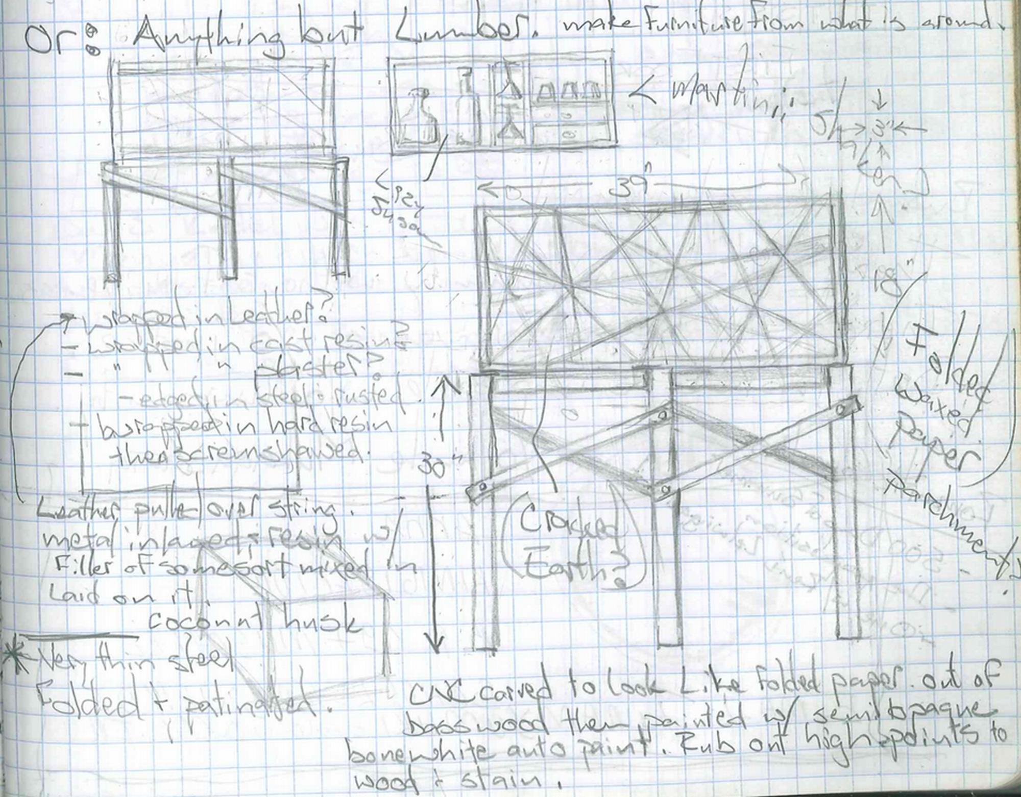Chris Martin Sketch 1