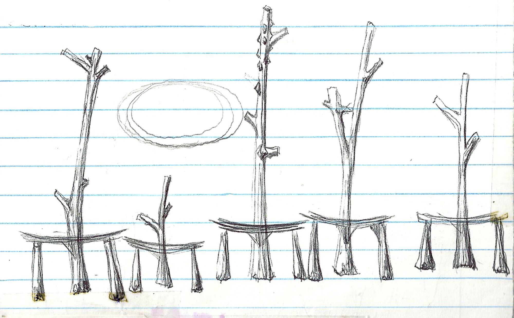 Chris Martin Sketch 5