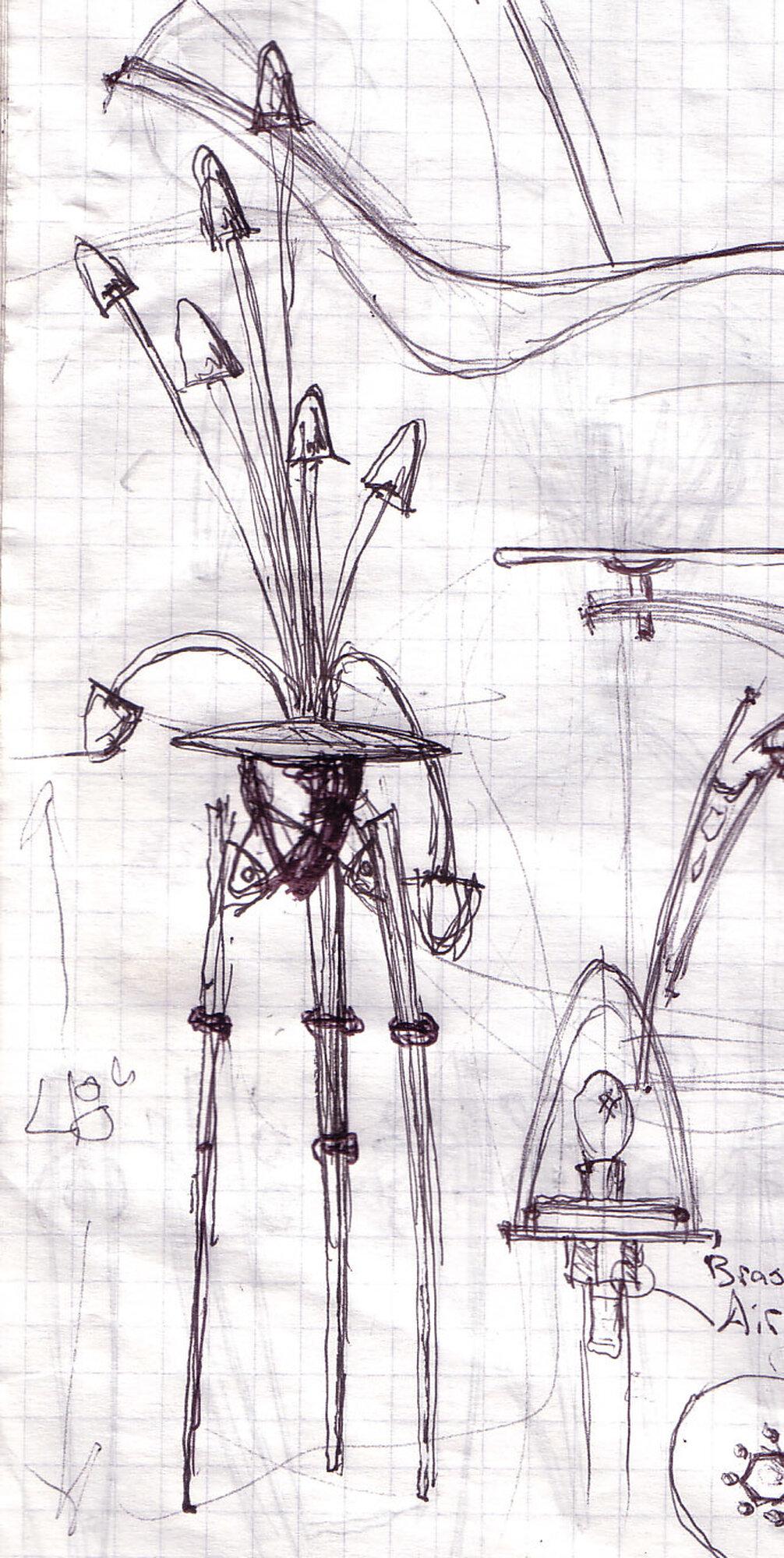 Chris Martin Sketch 4