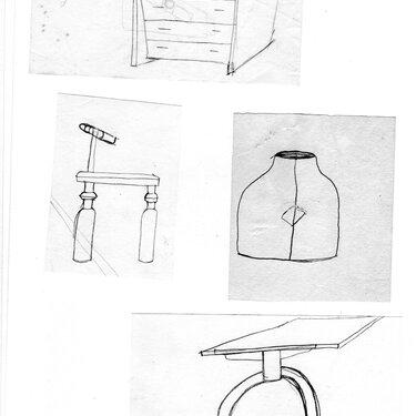 Michael Puryear Sketches 2