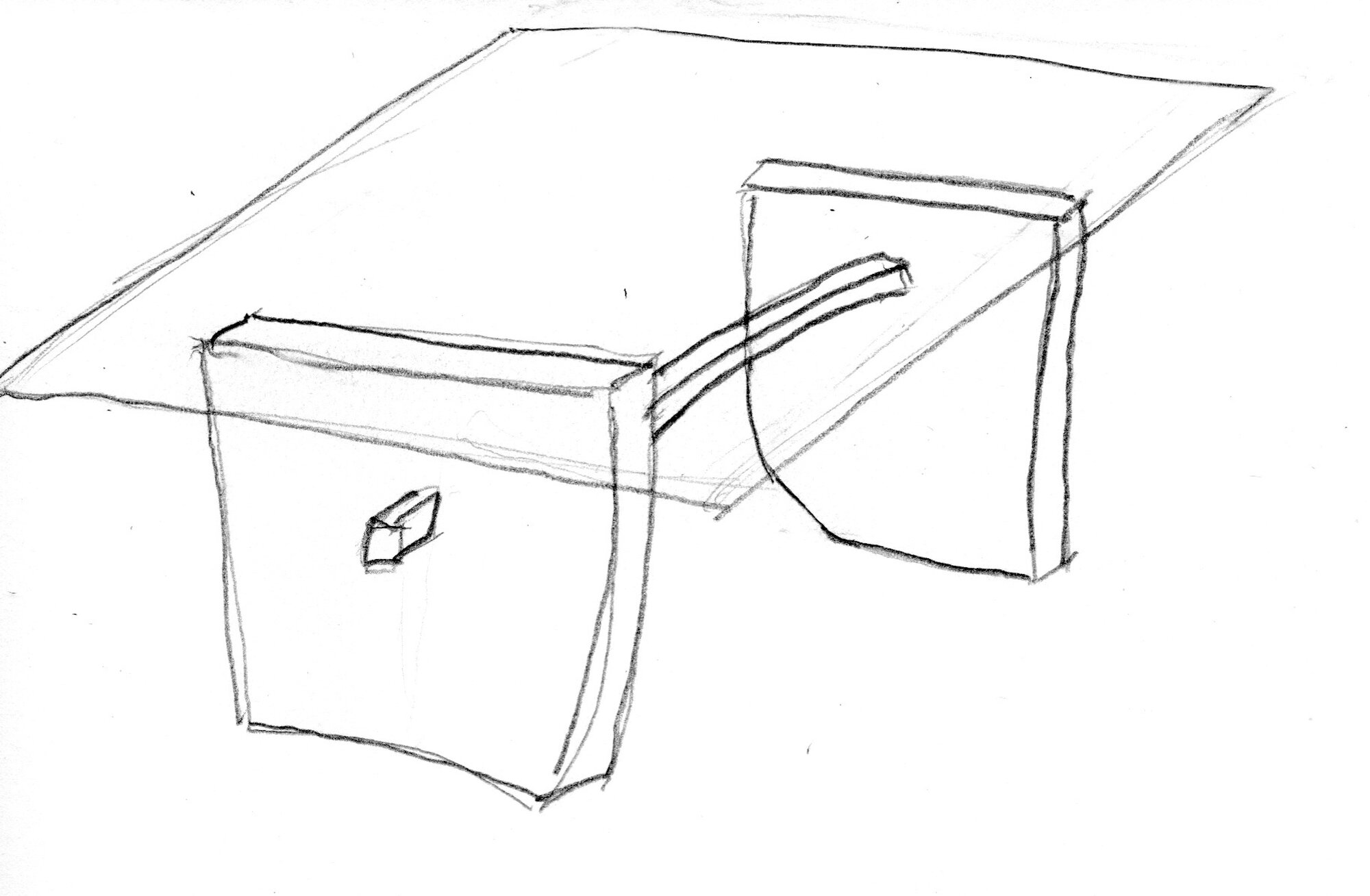 Michael Puryear Sketch