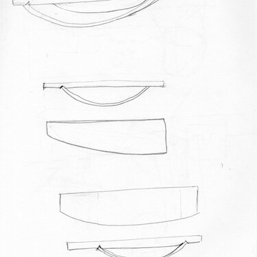 Michael Puryear Sketch for Sideboard