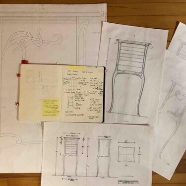 Sharon Mehrman Thread Chest sketches