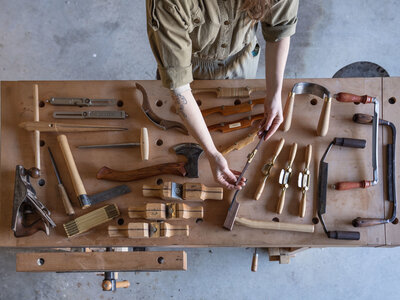 Building Equity & Building Furniture: The Chairmaker's Toolbox Project with Aspen Golann