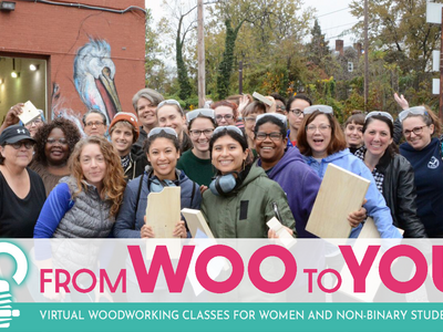 From WOO to You: A Community Woodshop in a Virtual World