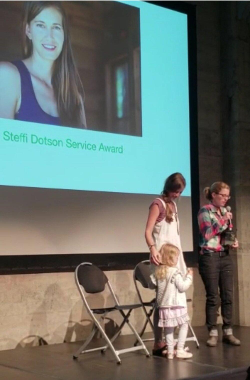 Steffi Dotson Award Ceremony