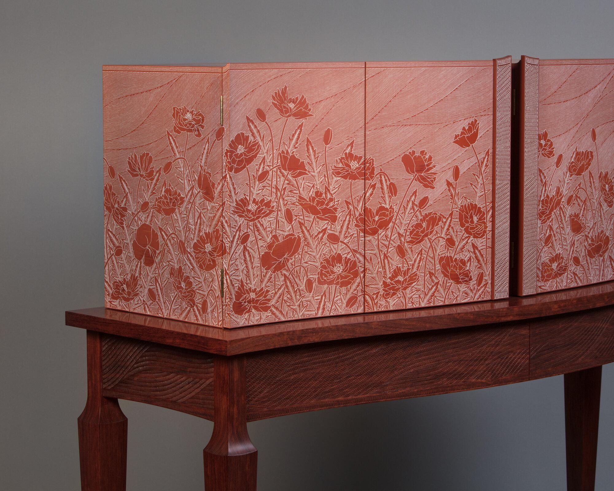 Poppy Cabinet (detail 1)