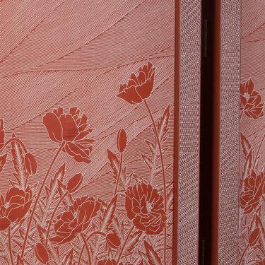 Poppy Cabinet (detail 2)