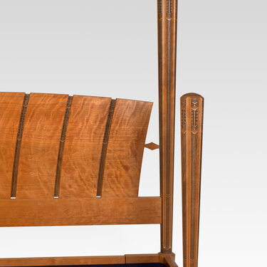 Senechal Bed (detail 1)
