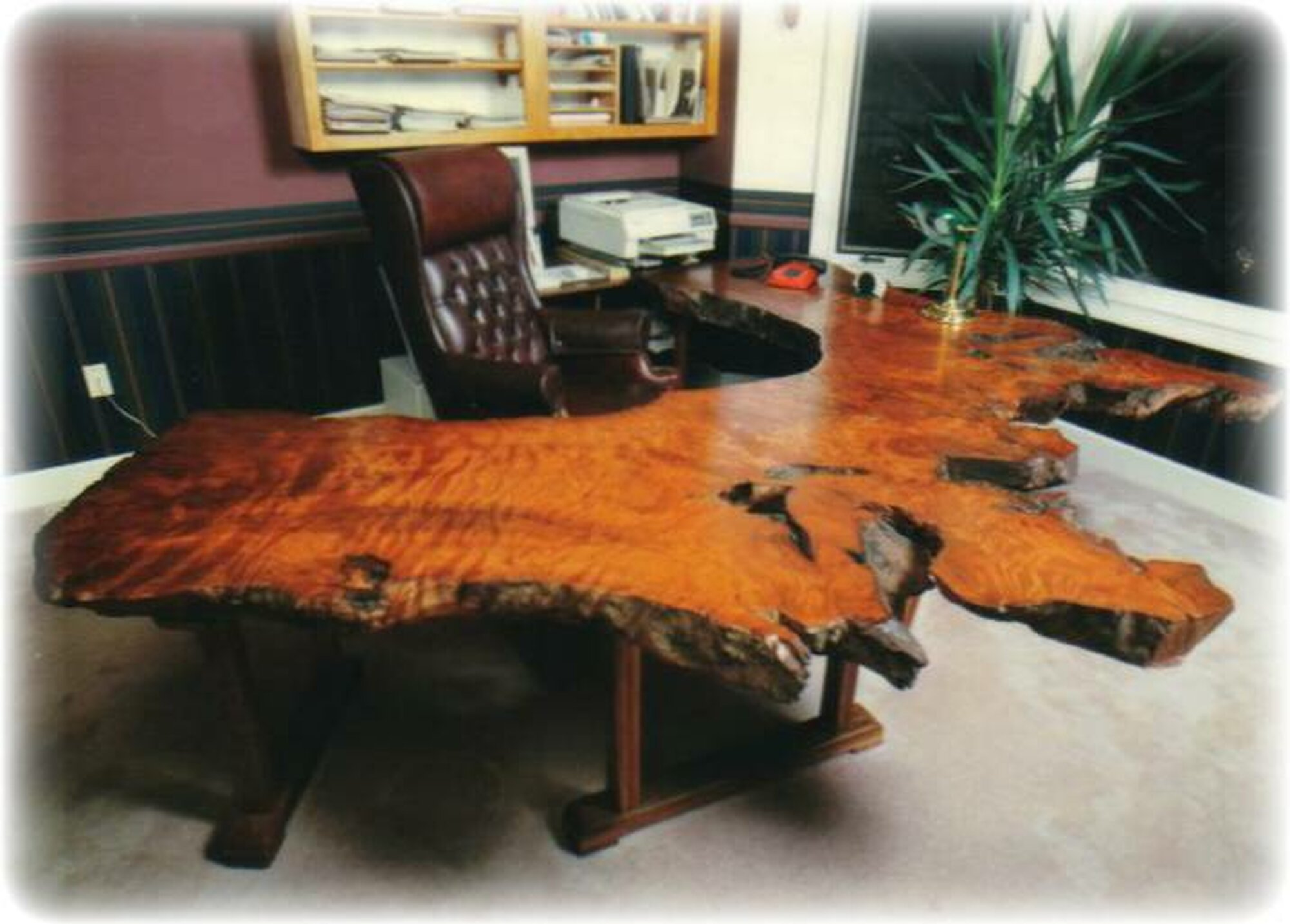 Redwood Desk