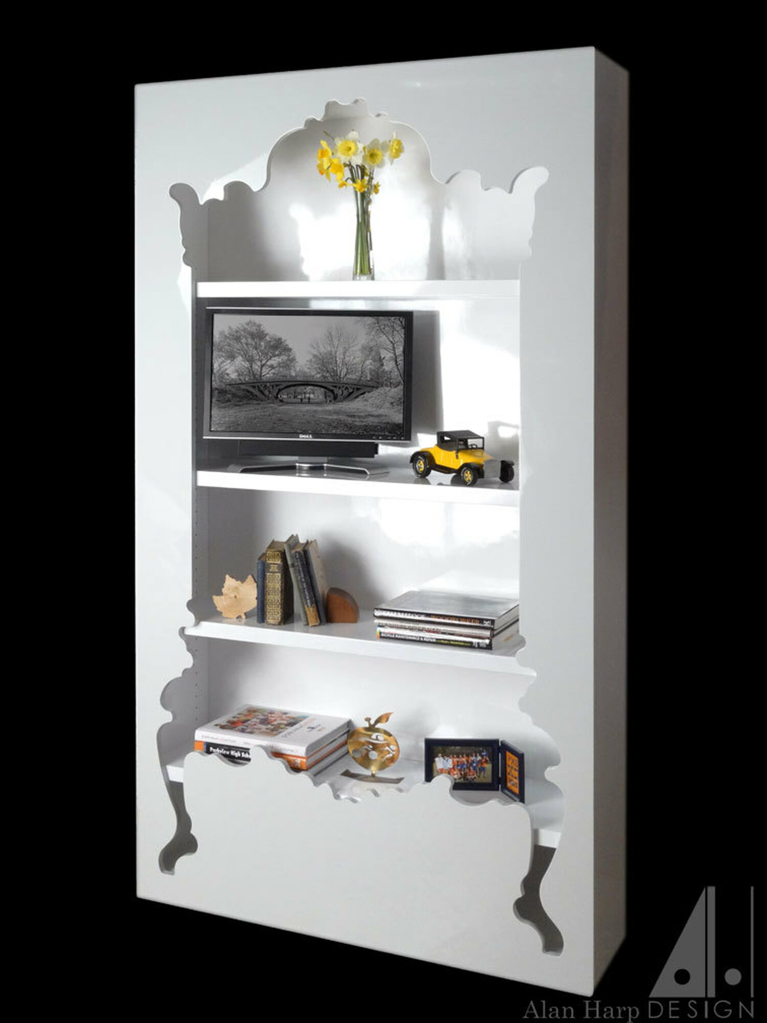 Shadow Box Bookcase