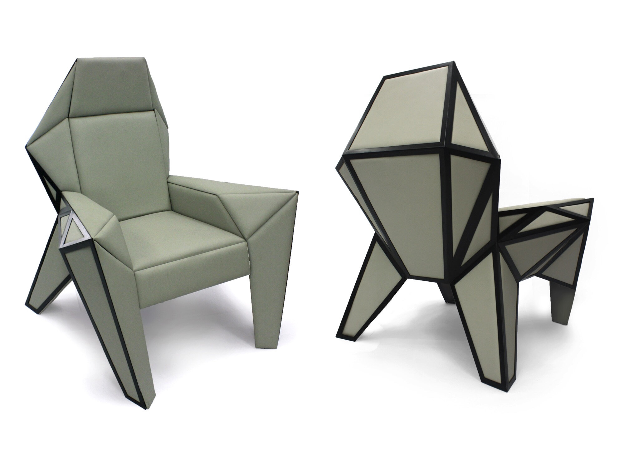 Rocket Chair (front and back)