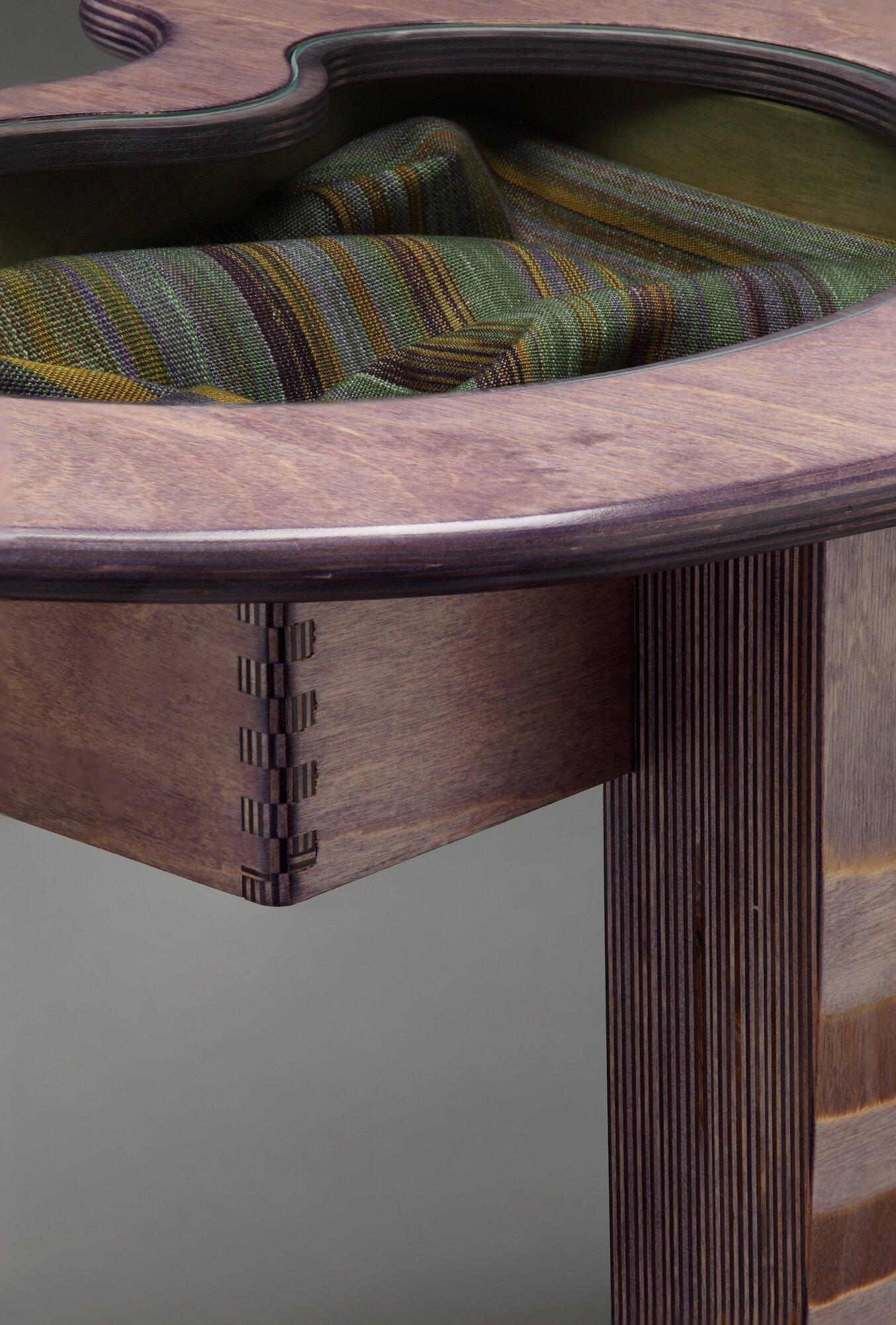 Amoeba Table - Detail