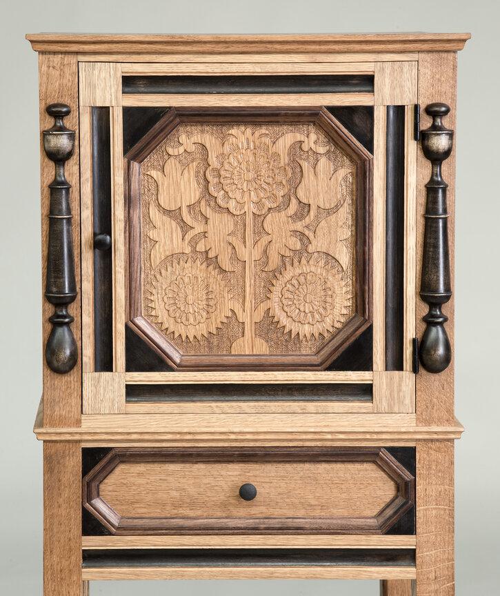 Sunflower Cabinet