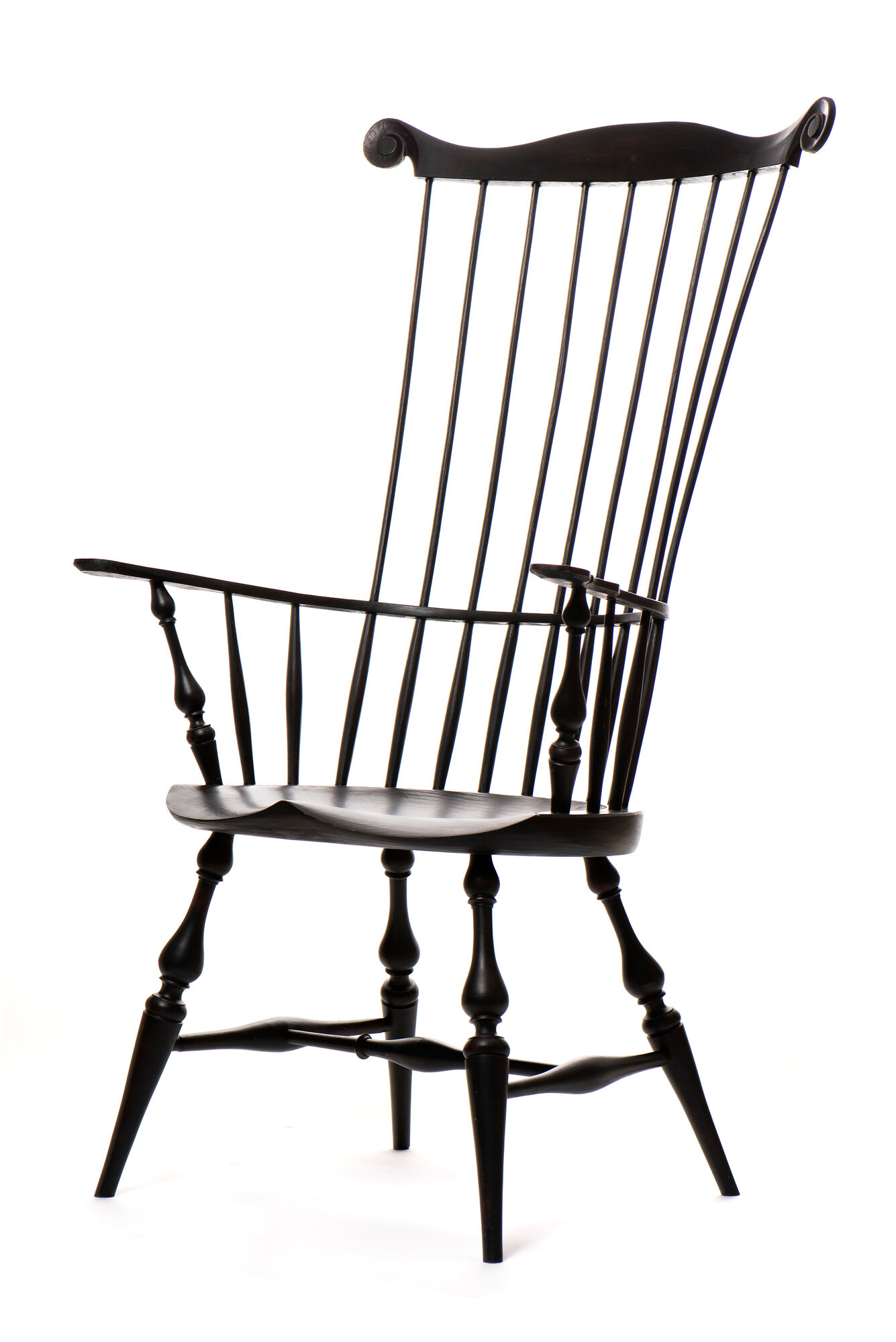 Comb Back Windsor Arm Chair