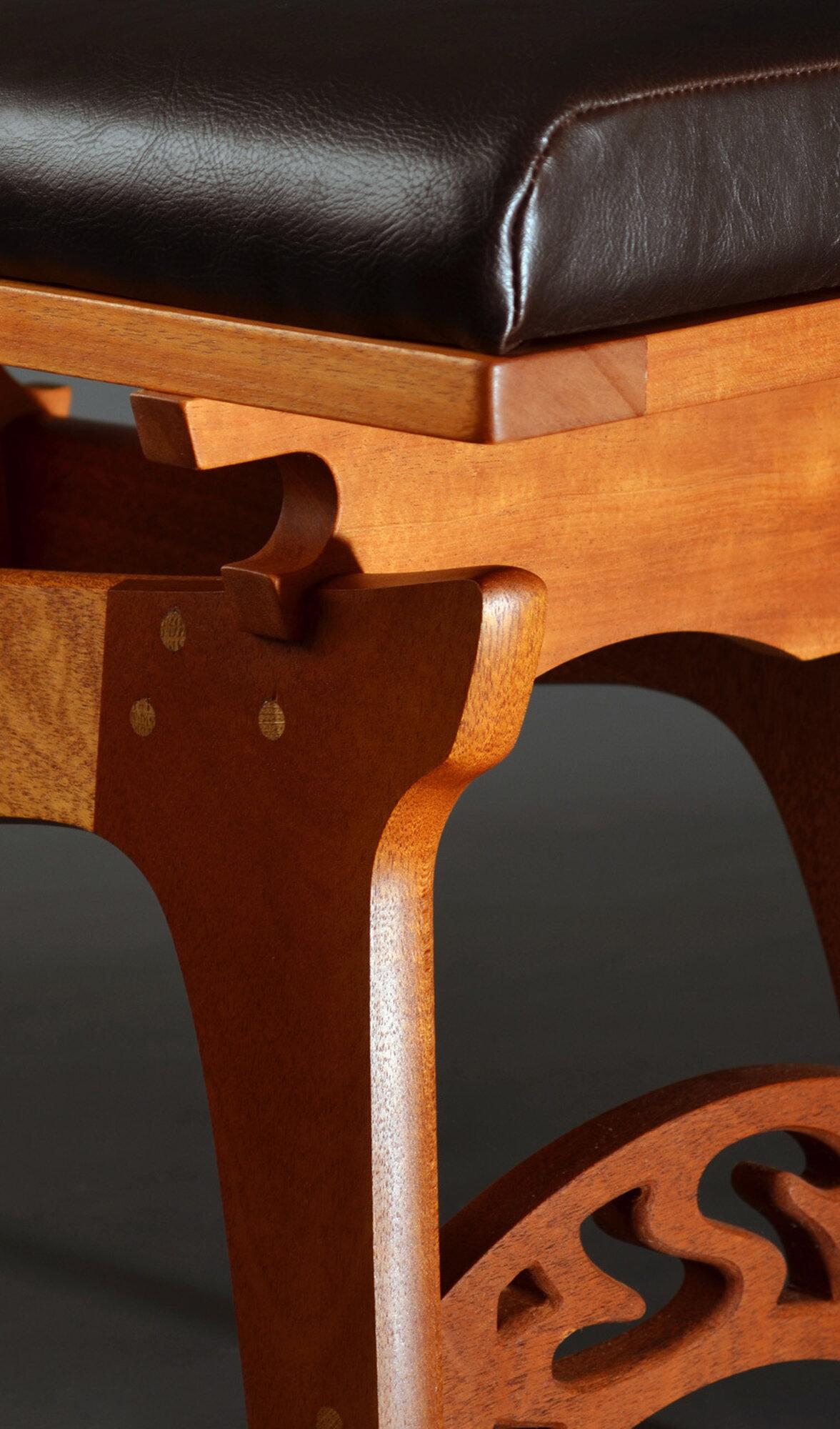 """Dining Bench"" (detail)"