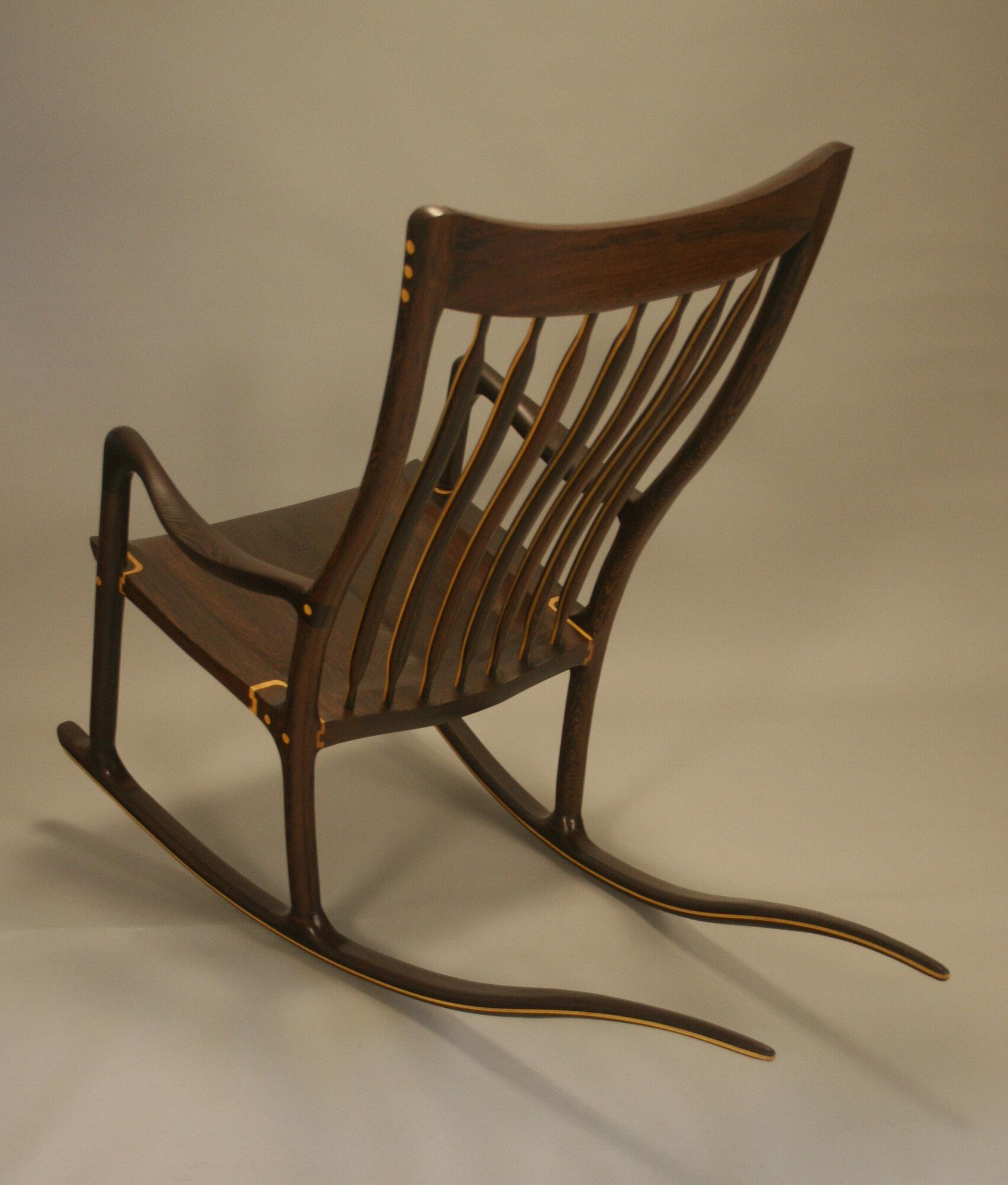 Wenge Rocking Chair
