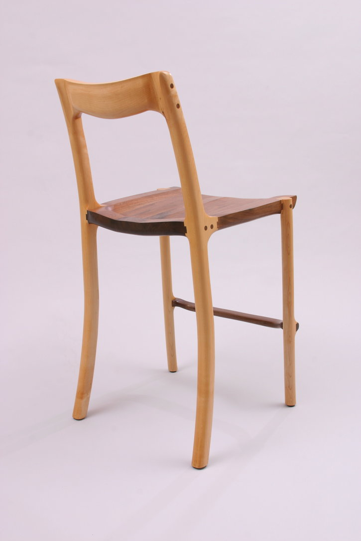 Walnut Barstool