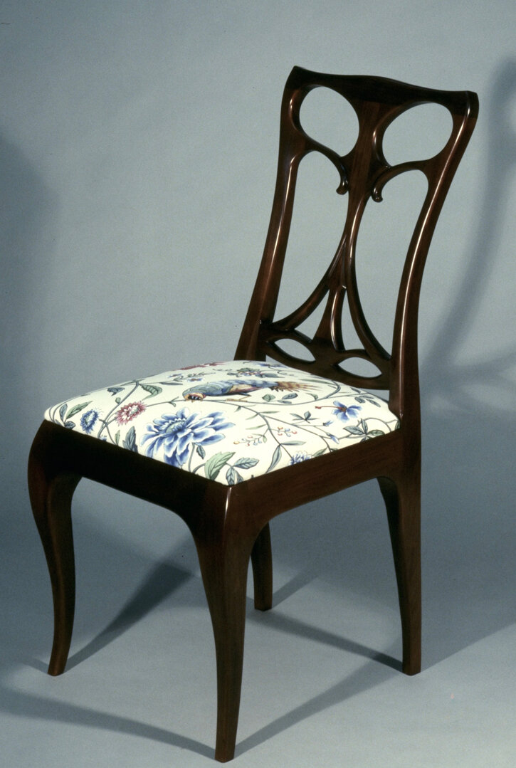 Art Nouveau Side Chair