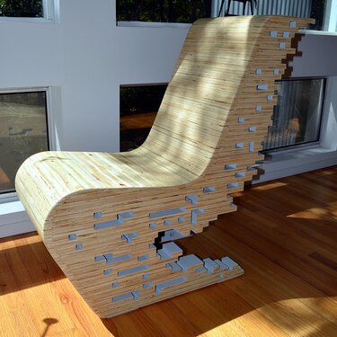 Pixel chair