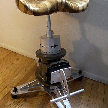 Steam punk stool