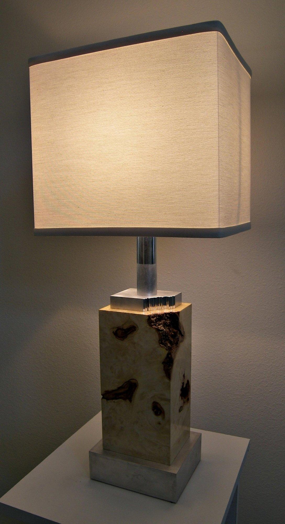Box elder lamp