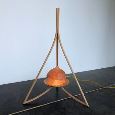 Onion Ascending - Tripod Lamp