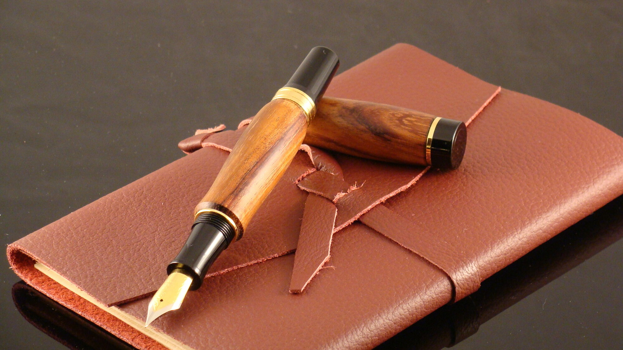 Fountain Pen in Osage Orange