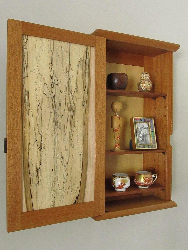 Wall Cabinet (open)