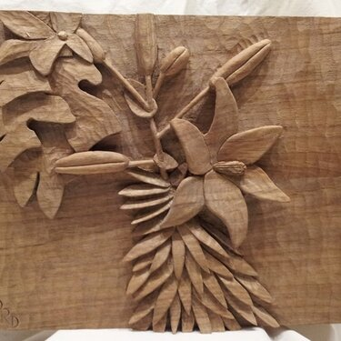 Lilly Carving