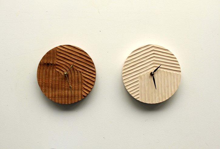 Carved Clocks