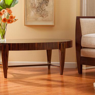 Tusk Oval Coffee Table