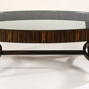 Tusk Oval Coffee Table