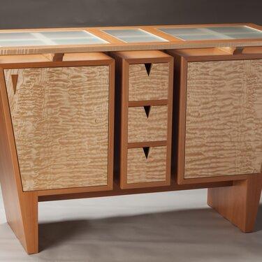 Custom Keystone Sideboard