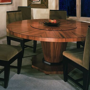 Aspen Table & Tusk Chairs