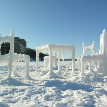 Snow Furniture