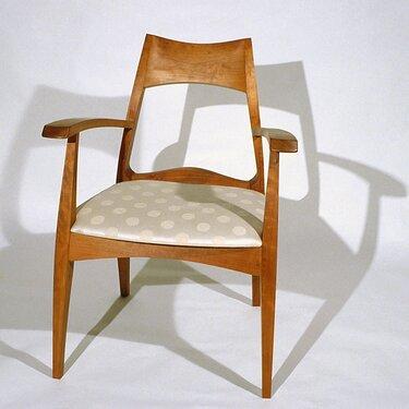 Cherry arm chair