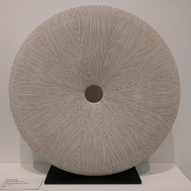 White Segmented Disc