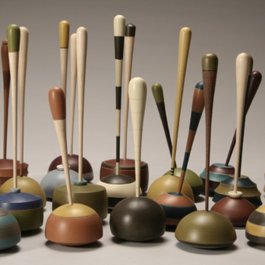 Tall Wobble Tops (a.k.a. Plungers)