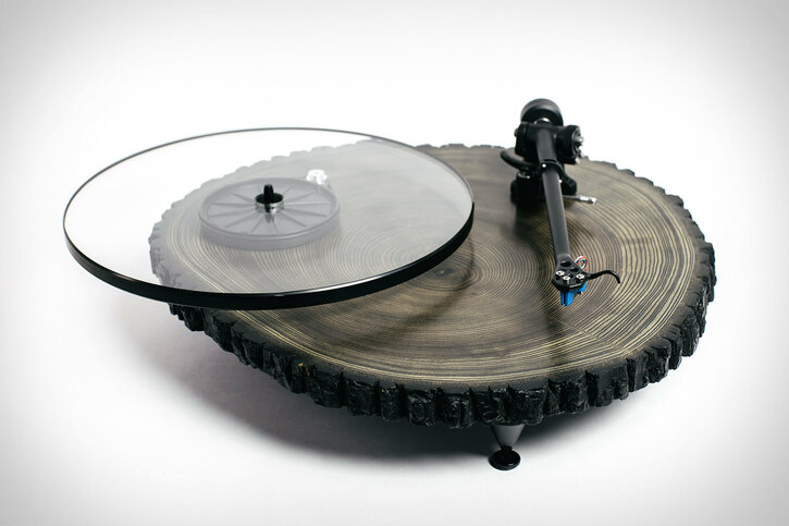 Black Barky Turntable
