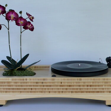 Sound Garden Turntable/Planter