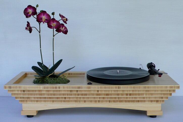 Sound Garden Turntable/Planter