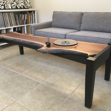 Sit and Spin Coffee Table/Turntable