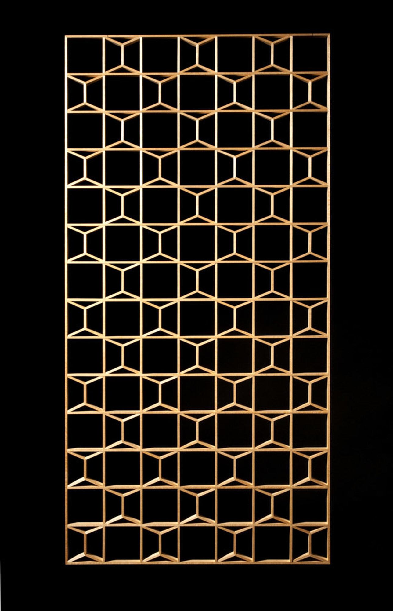 Hexagon screen